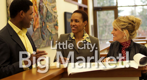 little city big market